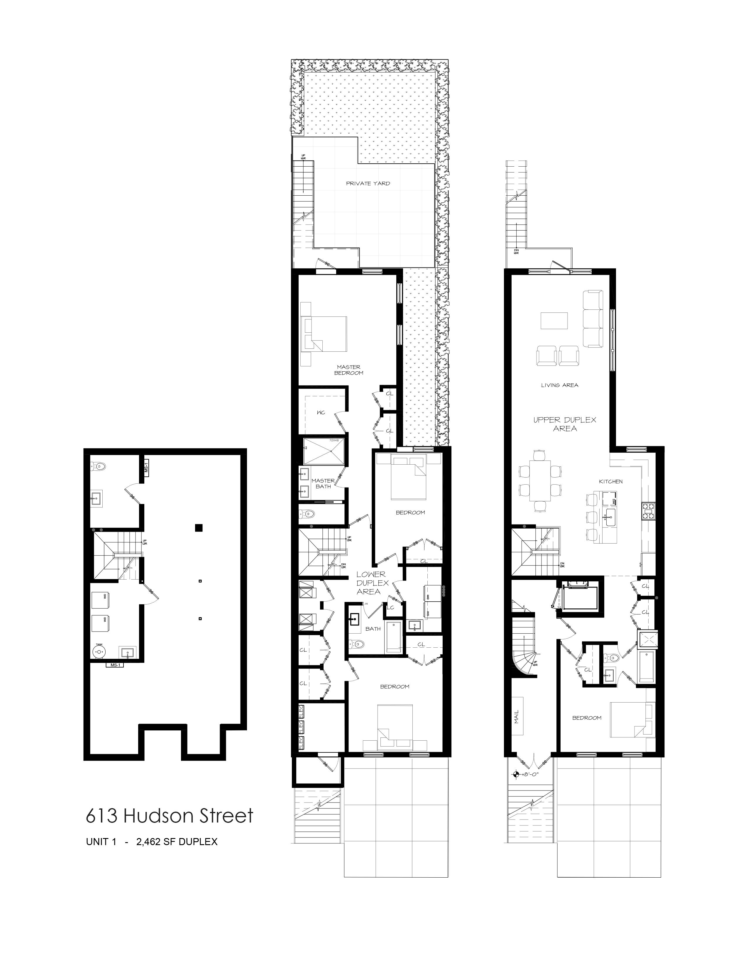 613 Hudson Unit 1