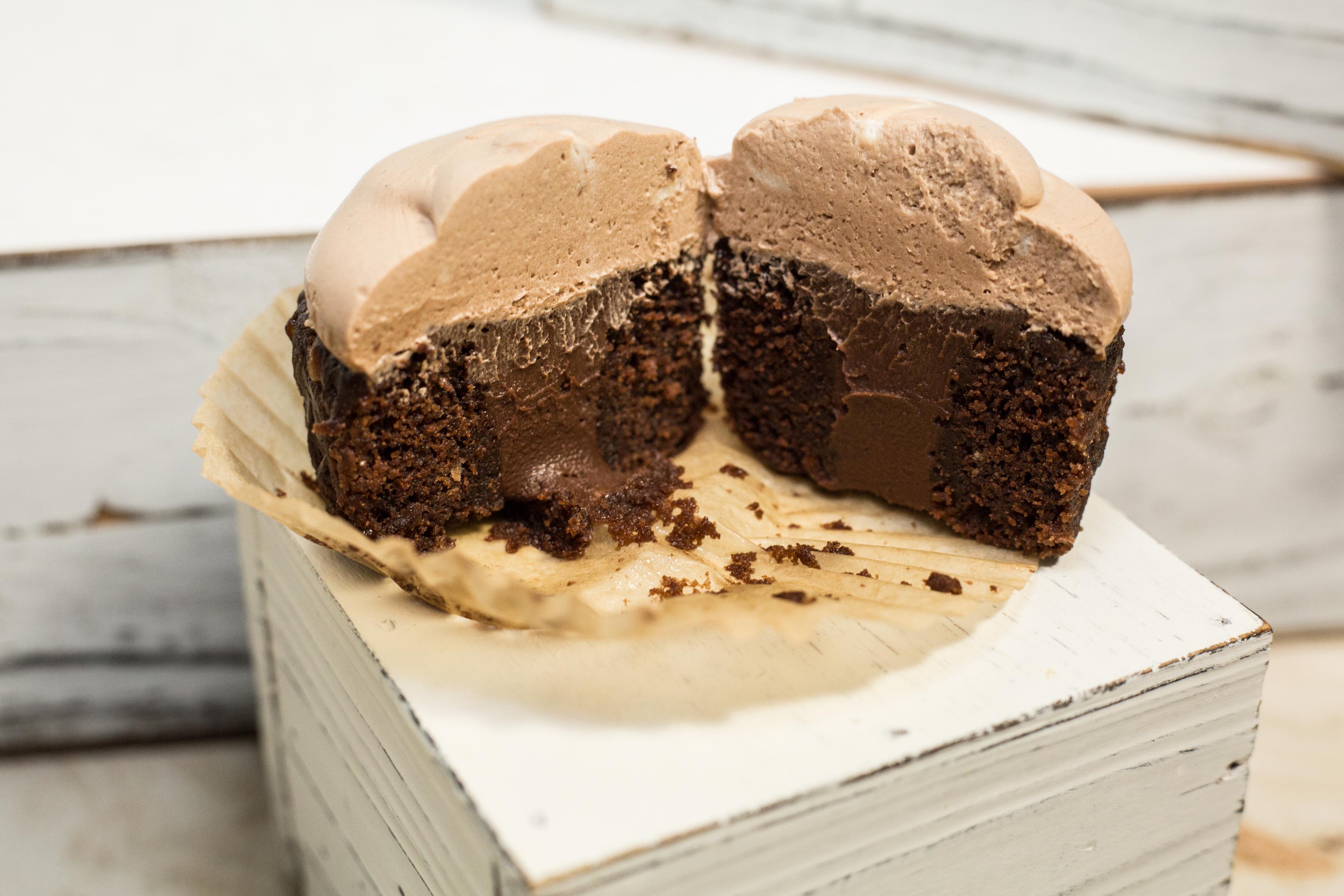 Chocolate Lava Cupcake