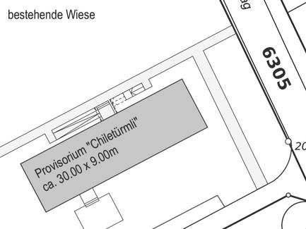 Provisorium Chiletürmli > Ausschreibung System / Lieferant