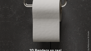 3D renders - so real campaign