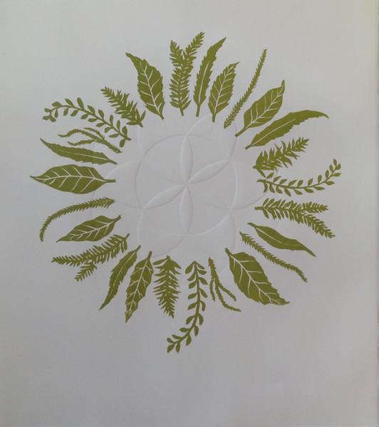 'Leaf Mandala'