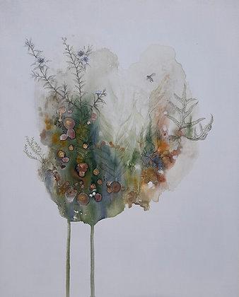 'Mānuka biosphere' fine art giclēe print