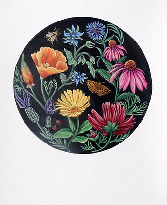 'For the bees' fine art giclēe print