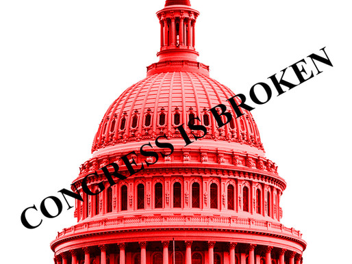 Congress is Broken. We can fix it!!!