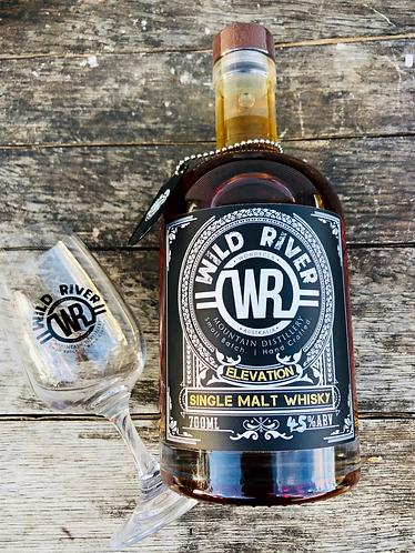 Elevation Single Malt Whisky Batch #2 Wild River Glass Bundle