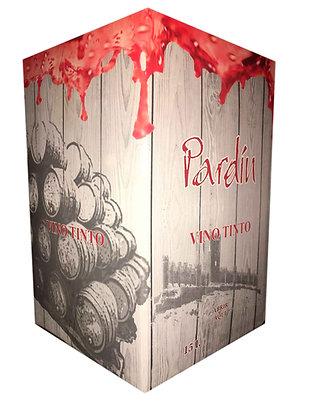 Box Tinto Roble 9 Meses Barrica 15 Litros Pardín