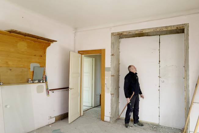 Rénovation propriété de Maître