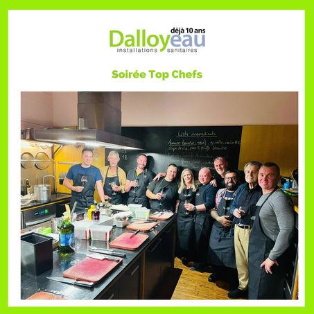 Notre équipe en cuisine
