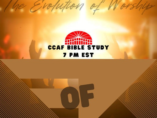 The Evolution of Worship- Part 11