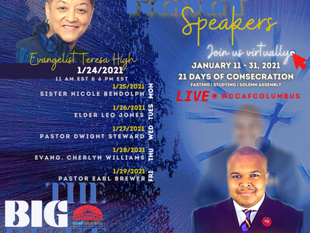 The Big Reset with Elder Denzeil Tubbs