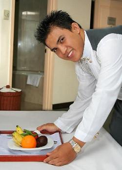 Room-service-attendant