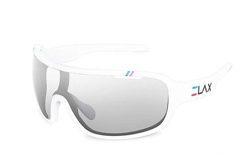 Gafas Ciclismo Fotocromáticas Polarizadas ELAX Bullet BLANCO