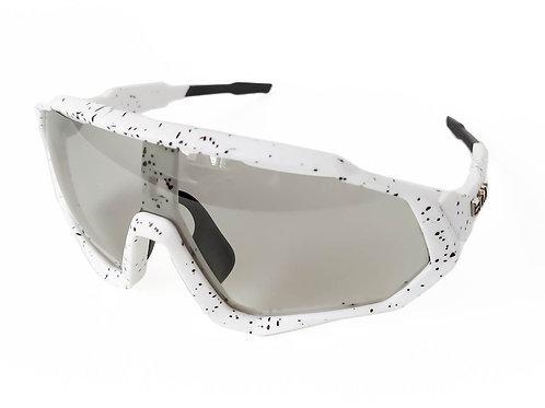 Gafas ELAX Dynamic PRO Fotocromáticas Polarizadas 4 lentes Blanco