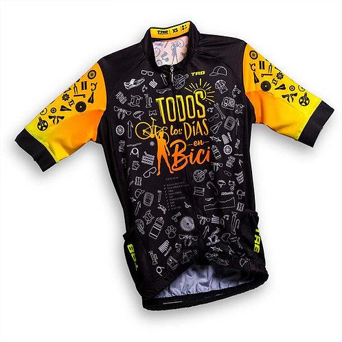 Jersey manga CORTA Todos los días en bici