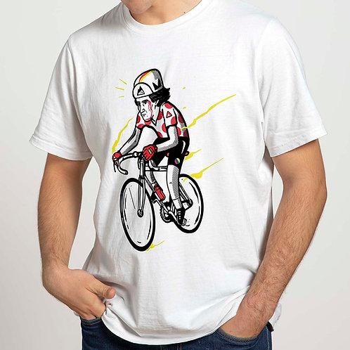 Camiseta blanca LUCHITO 100% algodón