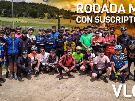 Rodada MTB con suscriptores y pedalea.co por LA CIMA cerca a La Calera.
