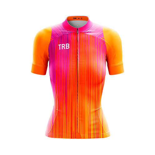 Jersey manga LARGA ELITE XR5 ORANGE mujer
