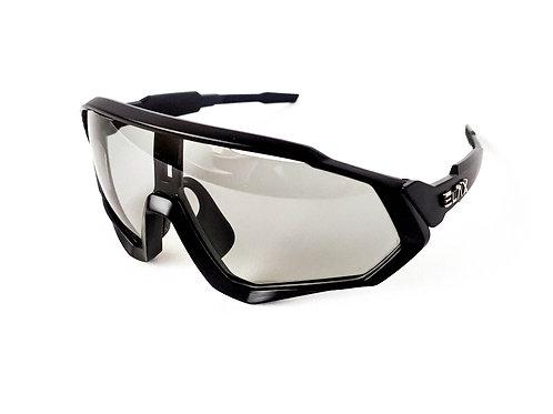 Gafas ELAX Dynamic PRO Fotocromáticas Polarizadas 4 lentes Negro