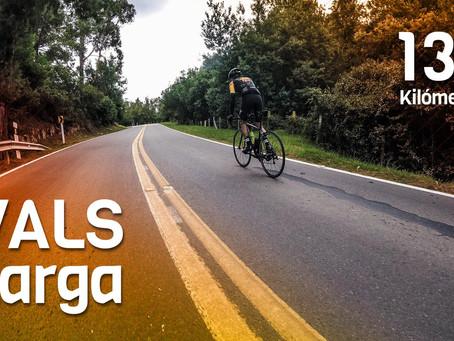 VALS Larga o GRAN Vuelta a la Sabana. Un fondo de verdad saliendo en la bici desde la casa