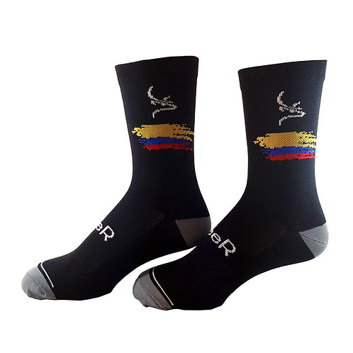 Medias CICLISMO Deer Sports Colombia Negro