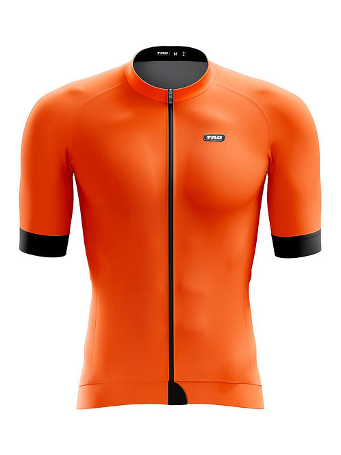 Jersey manga CORTA ELITE XR6 ORANGE hombre