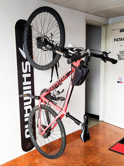 Rack de pared para todo tipo de bicicleta PERSONALIZADO