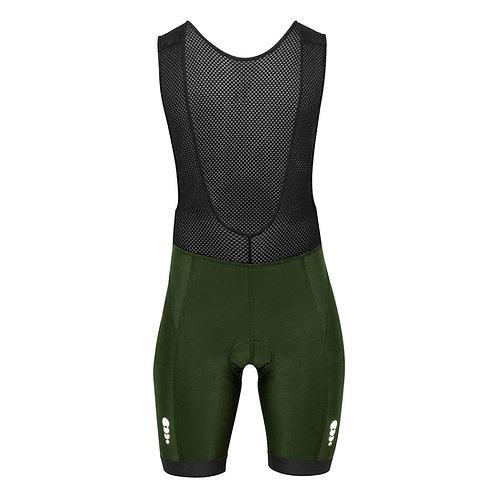 Pantaloneta UP sport Badana en GEL - Verde