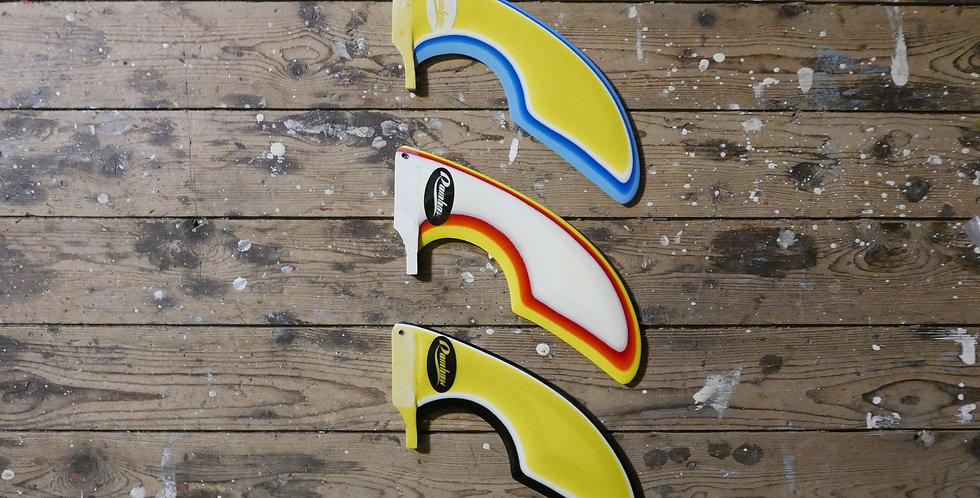Classic rainbow fins