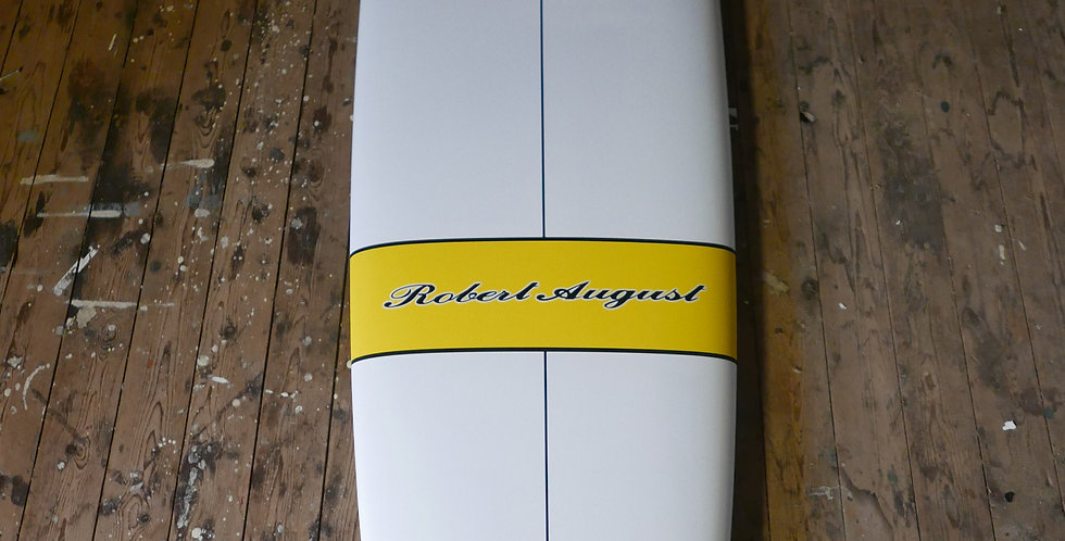 """8'4"""" Robert August what I ride"""