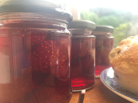 From pennies to lbs: making strawberry conserve