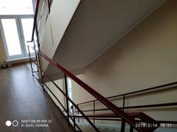Лестница от кабинета здоровья