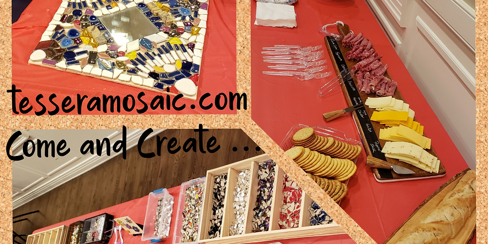 Tessera Mosaic Craft Night - May 1st