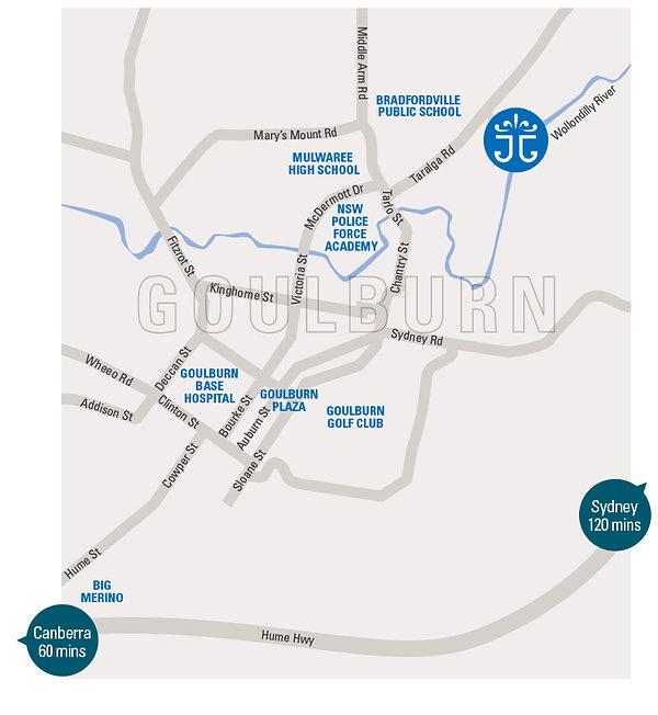Map of Joseph's Gate