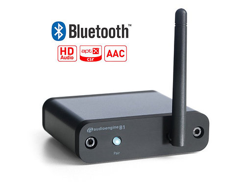 Audioengine B1- מקלט בלוטות׳ לאודיו עם DAC 24Bit