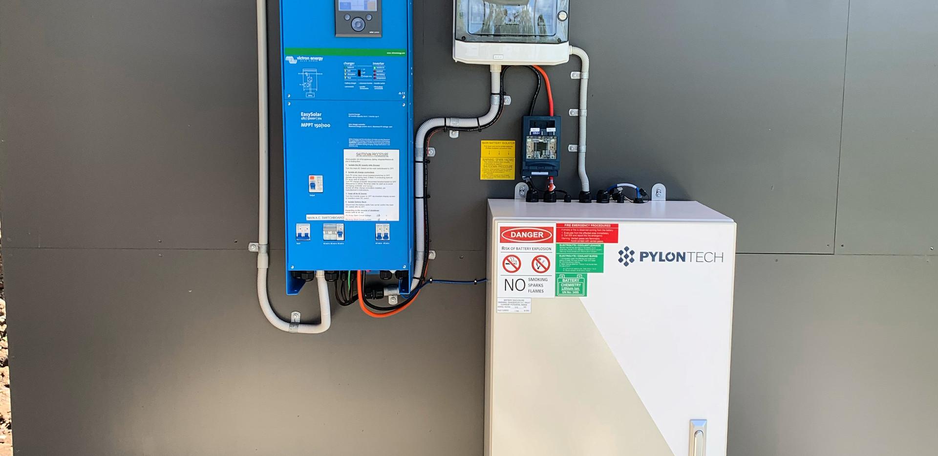 Pylontech/Victron -Off Grid Solar Solutions