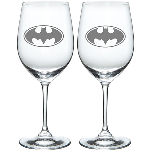 Batman Personalized Glass Gift