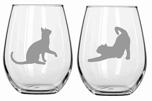 Cats Personalized Glasses