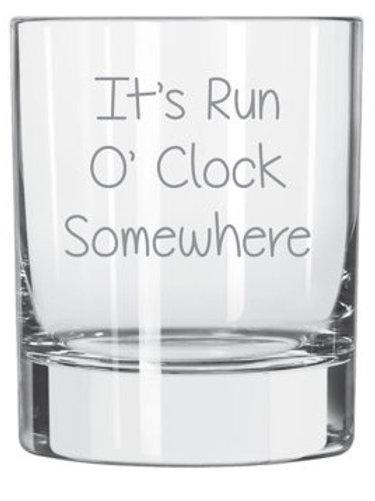 It's Run O'Clock Somewhere
