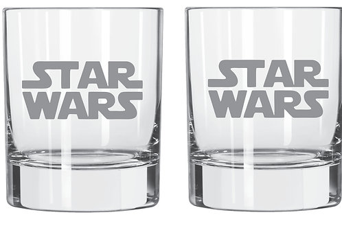 Star Wars personalized glass gift