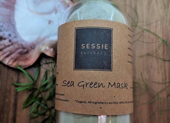 Sea Green Seaweed Face Mask Powder