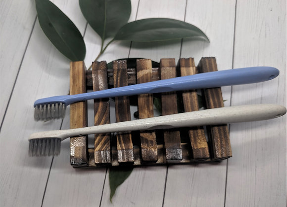 Natural Bamboo Charcoal and Wheat Straw Toothbrush