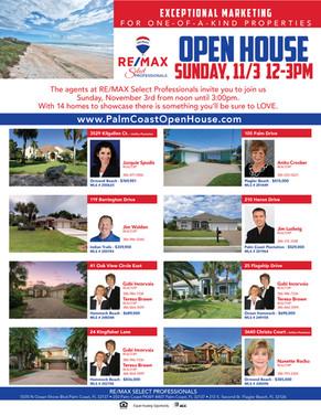 ReMax Palm Coast Open House Event 10-201