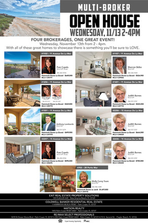 Multi Broker Open House Event 11-2019 Fl