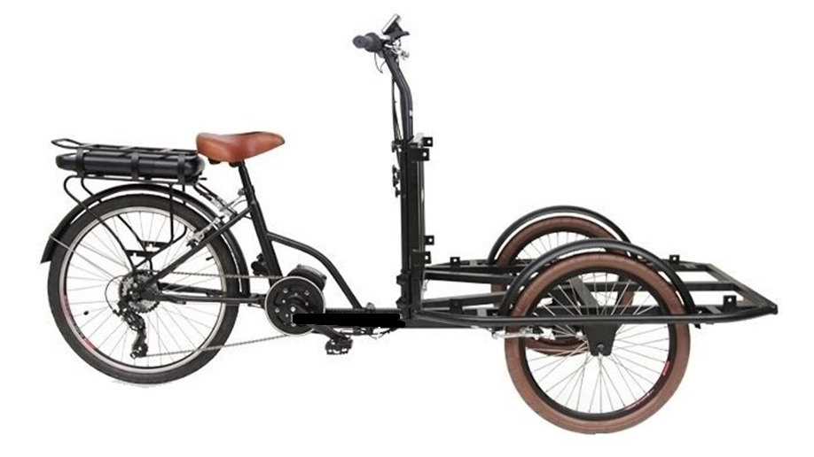 WINGS-M500 e-trike multi-purposes 500W Li-ion Battery electric cargo trike