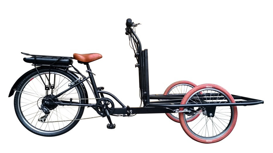 WINGS-R350 e-trike multi-purposes 350W Li-ion Battery electric cargo tricycle