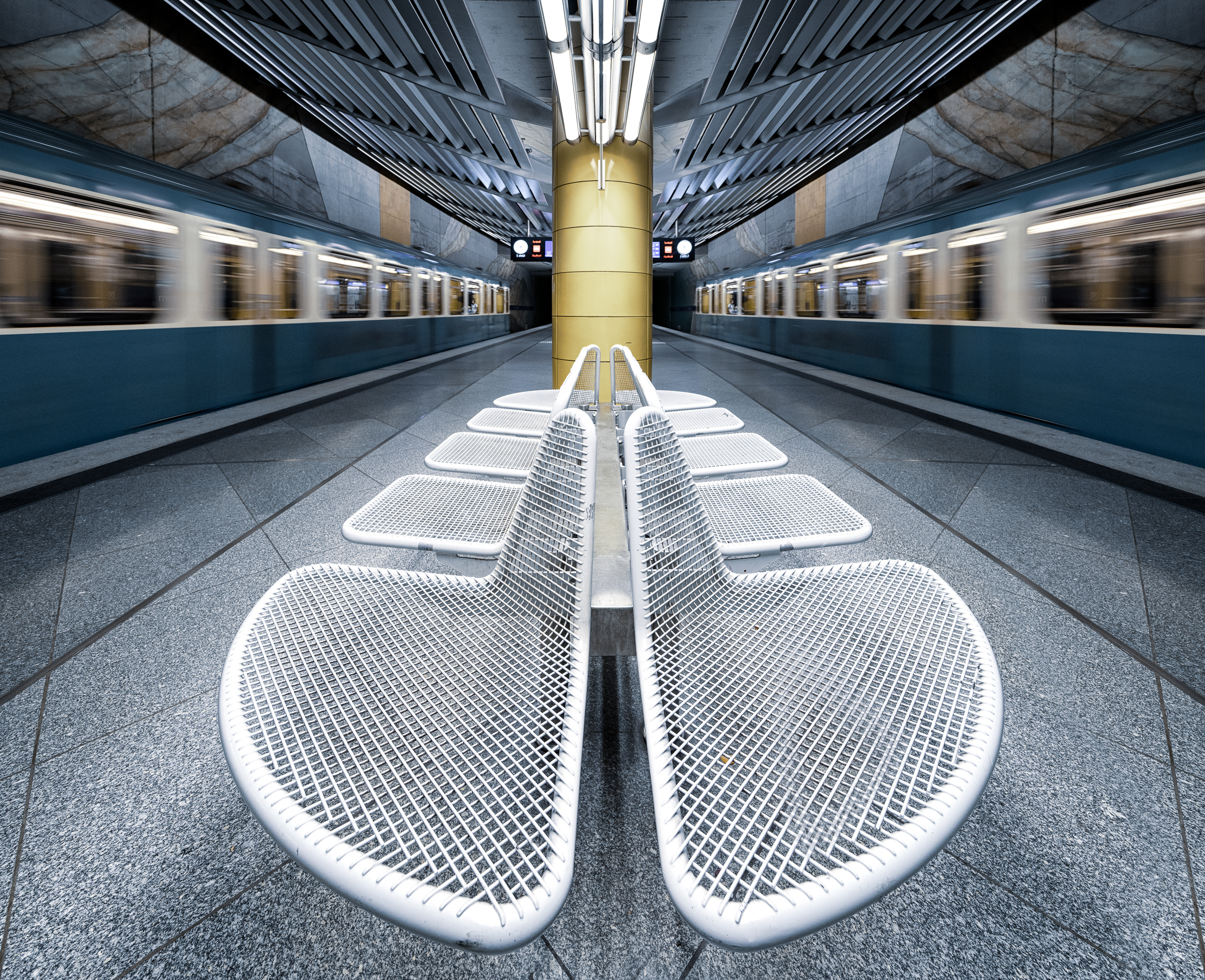 Seats and trains