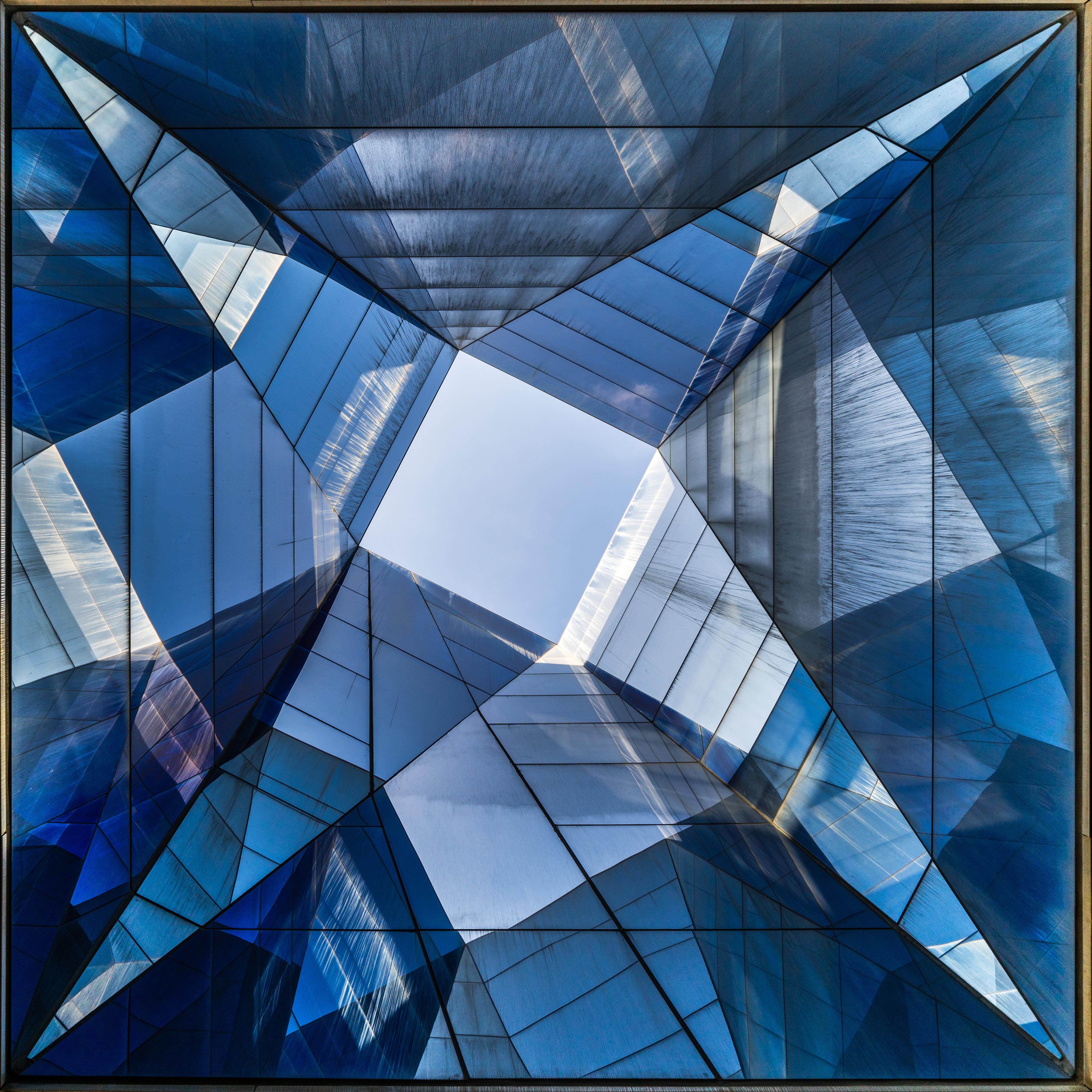 Blue skylight