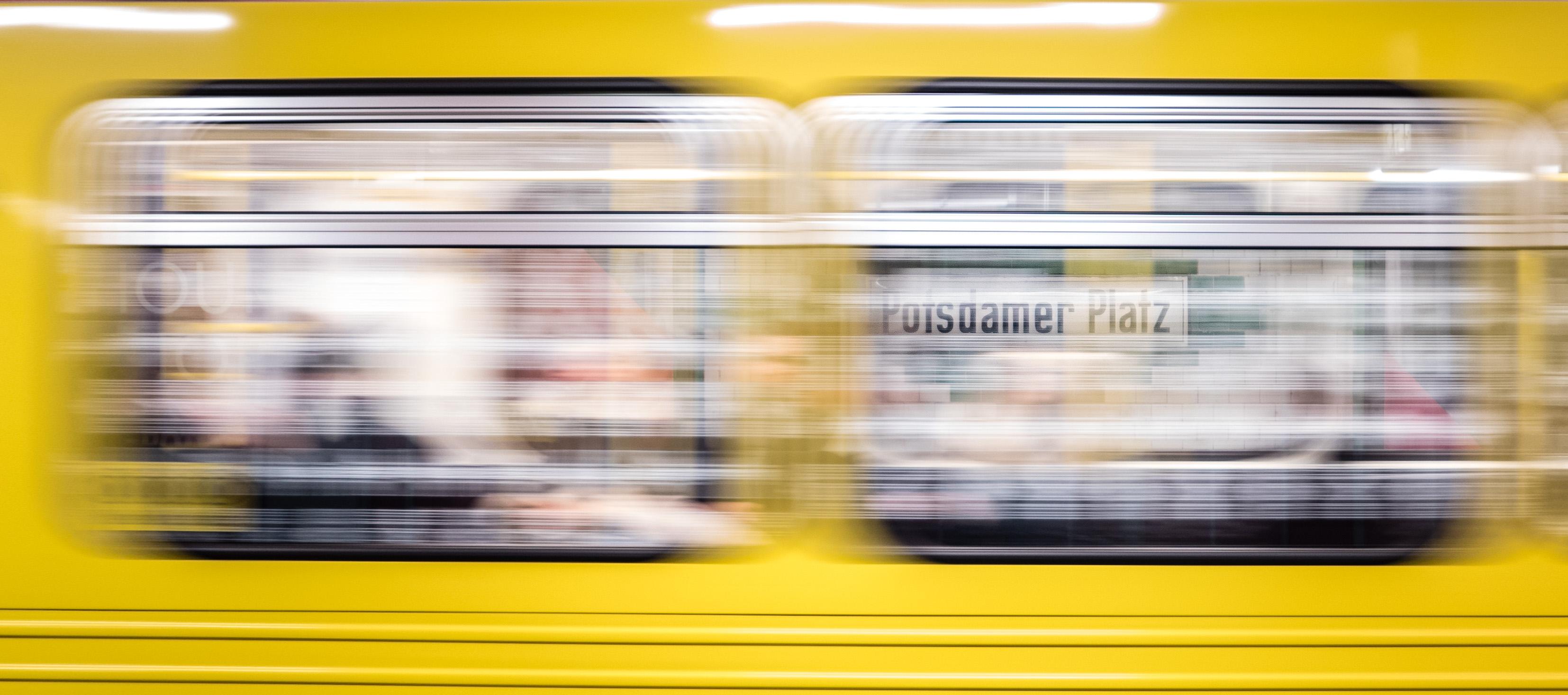 Potsdamer Platz Zug