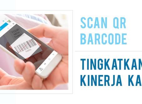 Kasir Cepat dengan QR Barcode