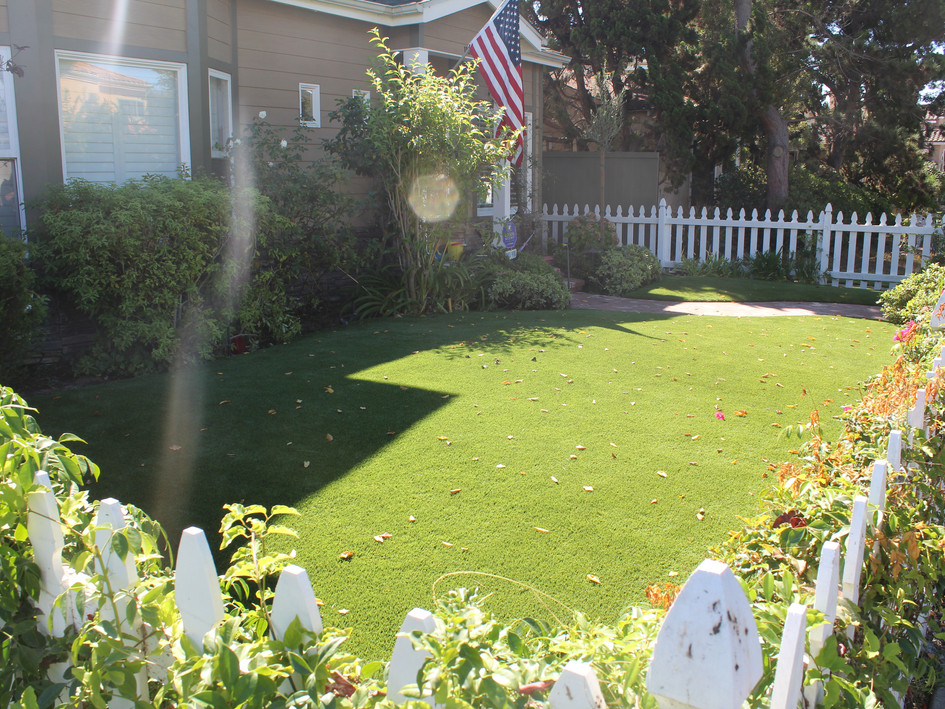 artificial turf front yard.JPG